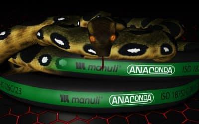 Manuli Launches Anaconda Hose Range for Hydrostatic Drives